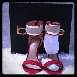 Bebe red heels!